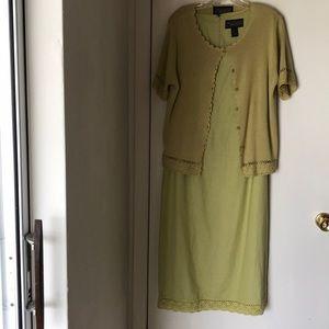 Norton McNaughton 2pc maxi dress.  12